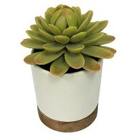 Artificial Plant in White Pot Small - Threshold™