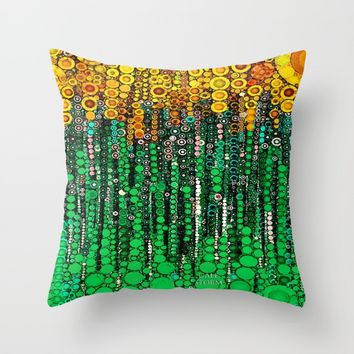 :: Doin' It Right :: Throw Pillow by :: GaleStorm Artworks ::