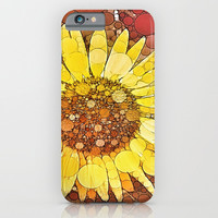 :: Sunflower Wishes :: iPhone & iPod Case by :: GaleStorm Artworks ::
