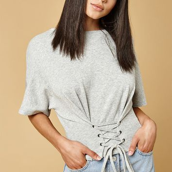 MinkPink Corset Sweat Top at PacSun.com