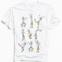 Rick And Morty Dancing Rick Tee | Urban Outfitters