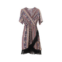 FRINGE DRESS (2 colors)