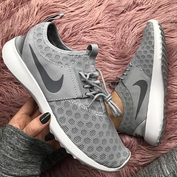 """Nike"" Fashion Women Sport Shoes Casual Sneakers Juvenate Gray"