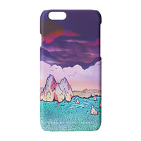 Marc by Marc Jacobs Mars Landscape Printed Glossy Phone Case