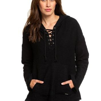 Would You Believe Poncho Hoodie 192504397974 | Roxy