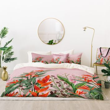 Viviana Gonzalez Dramatic Florals Collection 02 Bed In A Bag | Deny Designs