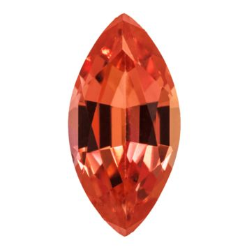 Marquise FAB Lab-Grown Padparadscha Sapphire Gems