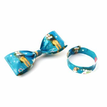 Funny Gift Ideas for Men, Cool Buddy The Elf Christmas Clip-On Bow Tie