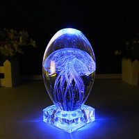 Crystal LED  Jellyfish Night Light