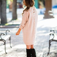 All The Drama Sweater Dress