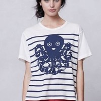 Sailor Stripe Octopus Tee - Anthropologie.com