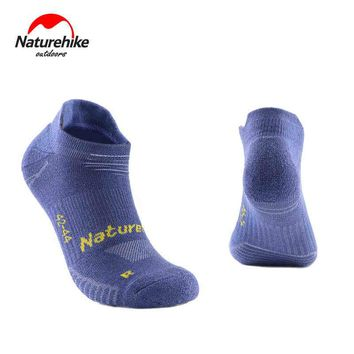 Outdoor Man Thin Quick Dry Absorb Sweat Gym Socks Woman Cotton Sock Slippers Protect Feet For Hiking Travel Running 3Pair/Lot