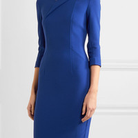 Roland Mouret - Ashby crepe dress
