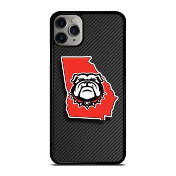 UGA UNIVERSITY OF GEORGIA BULLDOGS iPhone Case Cover