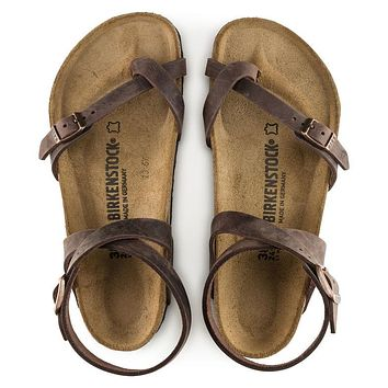 Birkenstock Yara Oiled Leather - Habana