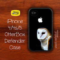 OtterBox Defender - iPhone 4 4s 5 Case - Barn Owl
