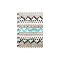 arrow tribal pattern spiral note books from Zazzle.com
