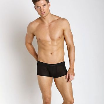 Diesel New Modal Hero Boxer Black 00SJ54-0CAJL-900 at International Jock Underwear & Swimwear