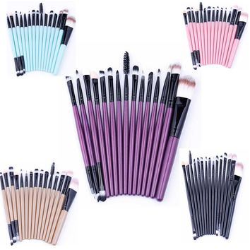 15PC Makeup brush sets