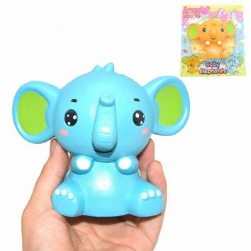 Areedy Baby Elephant Squishy Jumbo 12.5cm Slow Rising Original Packaging Collection Gift Toy