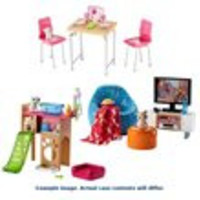 Barbie Pet and Furniture Set Case