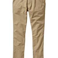 Men's 5-Pocket Slim Canvas Pants