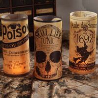 Apothecary Luminaries - Set of 6