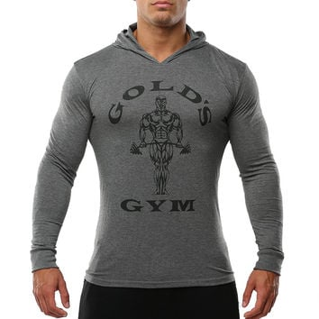 Sportswear Tracksuits Men's Bodybuilding Clothing Golds GymShark Hoodies and Sweatshirts Man Shirts
