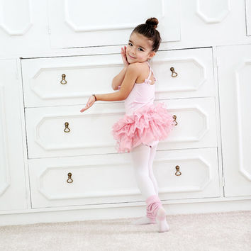 895a78f46 Girls Ballet Dress- Girls Ballet Leotard and Tutu Skirt- Girls Ballet Outfit-  Girls