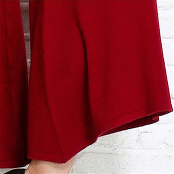 Pants Sparsil Cashmere blend Bolero style mid calf in several colors size one size fits all