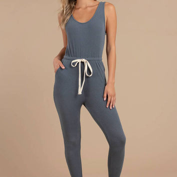 Tonya Ribbed Jumpsuit