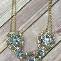 Queen of the Nile Necklace: Moss