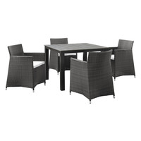 Junction Outdoor Patio Dining Set (5 PC)