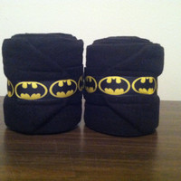 Batman/Batgirl Polo Wraps