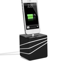 Quirky PCRE1-BK01 Core Dock for iPhone 5 - Black