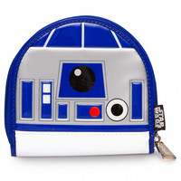 """R2D2"" Patent Coin Bag by Loungefly (White)"