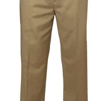 Mens Non-Iron Flat Front Chino Pants (38x30)