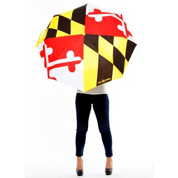 Maryland Flag / Umbrella (Back-Ordered Until 11/1)