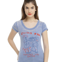 Steven Universe Guitar Dad Burnout Girls T-Shirt
