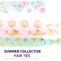 Summer Collective -  Mermaid Hair Ties | Pink