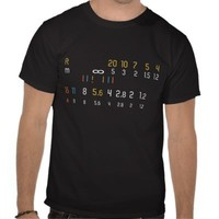 Manual Lens Photographer Shirt from Zazzle.com