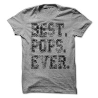 Best Pops Ever T-Shirt Tee
