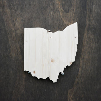 Ohio State Wood Cutout