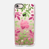 Garden Delight (Transparent) iPhone 7 Case by Lisa Argyropoulos | Casetify