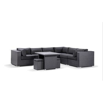 Sigma modern classic furniture outdoor modular seating home living room furniture