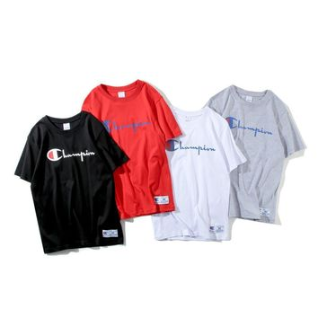 spbest Champion Simple Word T-Shirt
