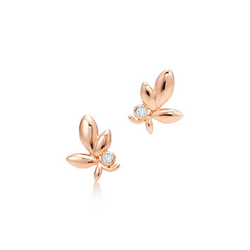 Tiffany & Co. - Paloma Picasso®:Olive Leaf Earrings