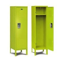 Kids' Room Storage Locker 15w x 15d x 54h - Sour Green Apple : The Shelving and Storage Store, by Shelving, Inc.