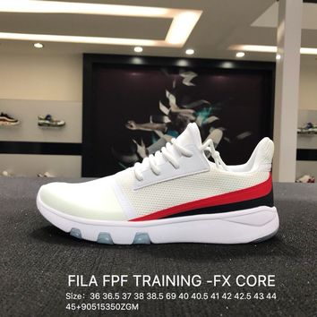 FILA FPF TRAINING -FX CORE White Women Men Trainning Sports Shoes Sneaker