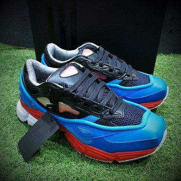Sale Raf Simons x Adidas Consortium Ozweego 2 III Retro Sport Smart Running Shoes Black Red Lucora Trainers Shoes B24072